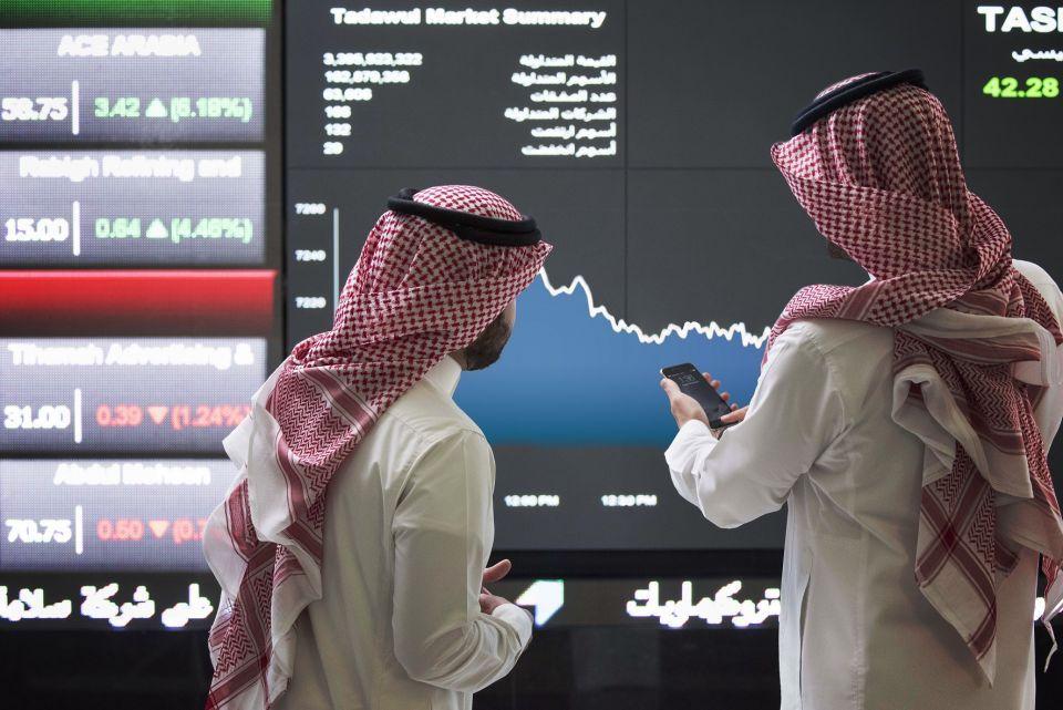 البورصة السعودية ترتفع في معاملات متقلبة والعقارات تصعد بسوق دبي