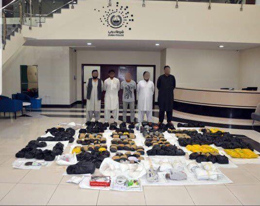 شاهد «ستوكر».. أكبر عملية ضبط مخدرات وشرطة دبي تكشف التفاصيل