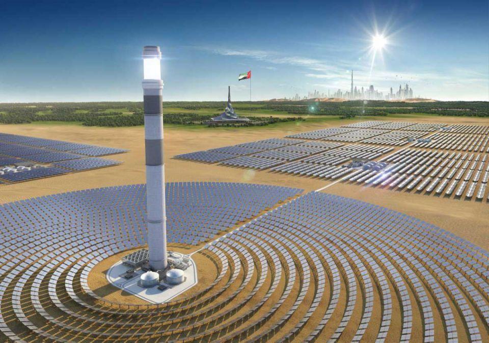 تقدم يستبق الخطط في إنجاز مجمع محمد بن راشد آل مكتوم للطاقة الشمسية