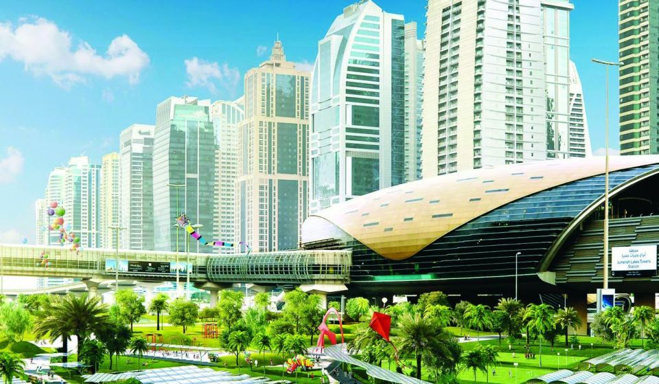 دبي تنفذ أطول منتزه زراعي في العالم