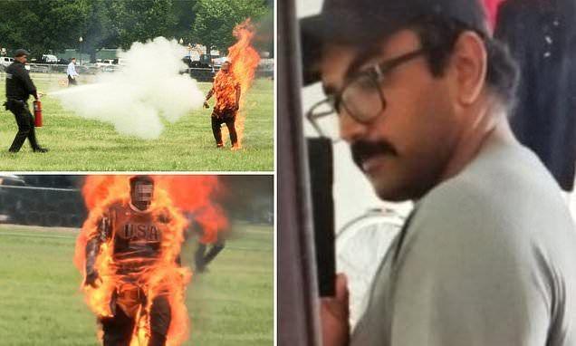 وفاة رجل أشعل النار في نفسه بالقرب من حديقة البيت الأبيض