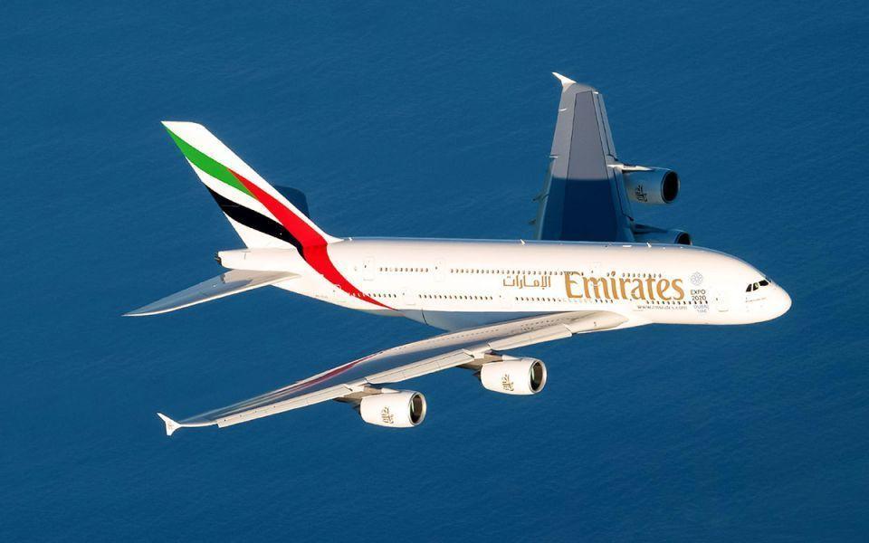 مسقط أقصر رحلة منتظمة لطائرة الإمارات العملاقة A380