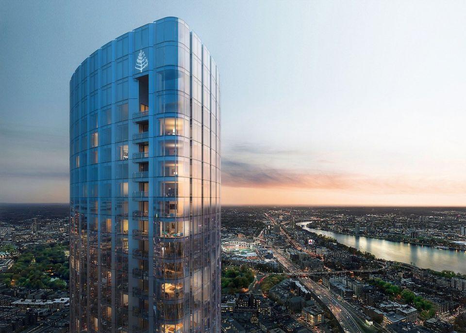 بالصور : فندق فور سيزونز وان دالتون ستريت ثالث أطول مبنى في بوسطن
