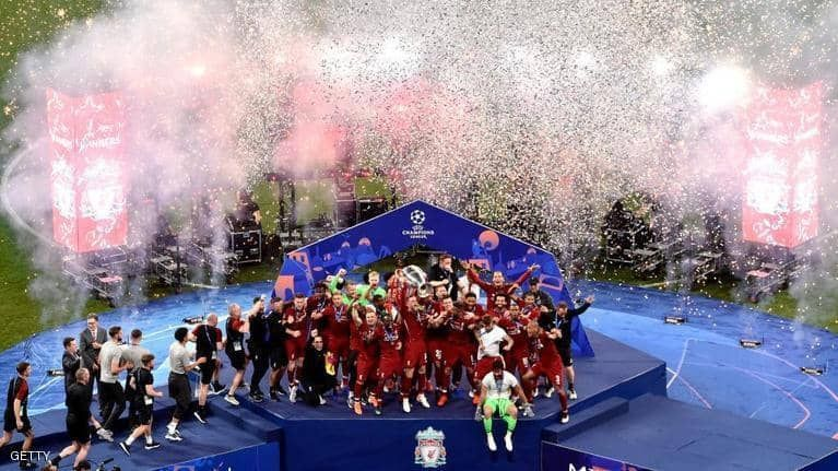 ليفربول يتوج بلقب دوري أبطال أوروبا