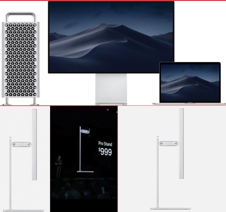 أبل تثير الدهشة بكشفها عن مسند شاشة بسعر 999 دولار