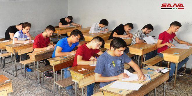240 ألف طالب في سوريا يتقدمون لامتحانات الشهادة الثانوية بمختلف فروعها
