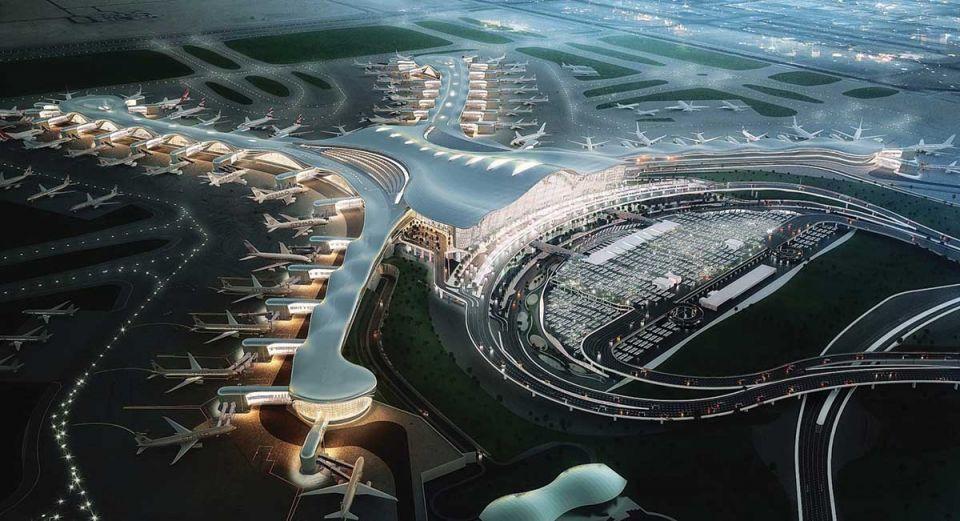 إتصالات توفر شبكة الجيل الخامس في مبنى مطار أبوظبي الجديد