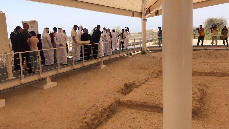 بالصور.. افتتاح  أول دير مسيحي يتم اكتشافه في الإمارات