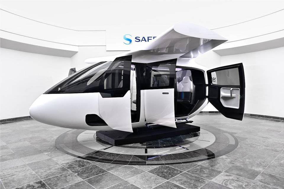 بالصور: تعرف على أول طائرة من دون طيار لشركة أوبر