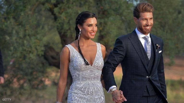 بالصور : أشهر نجوم العالم في حفل زفاف راموس