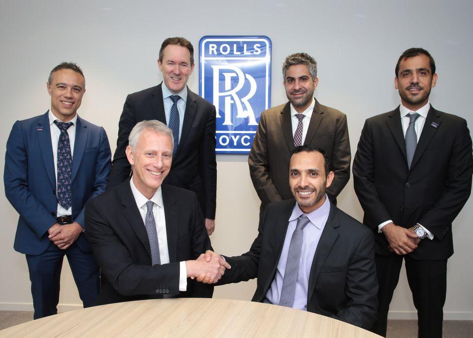 «سند» الإماراتية تبرم عقدا بقيمة 6.5 مليار دولار لصيانة محركات رولز رويس