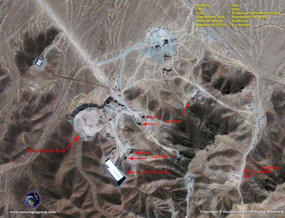 الولايات المتحدة تدرس شن هجوم تكتيكي ضد إيران
