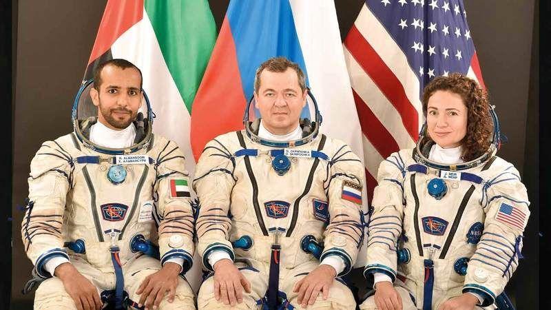 100 يوم تفصل الإمارات عن الانطلاق إلى محطة الفضاء الدولية