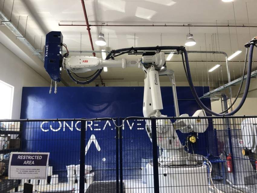 افتتاح أول مصنع إماراتي للخرسانة ثلاثية الأبعاد