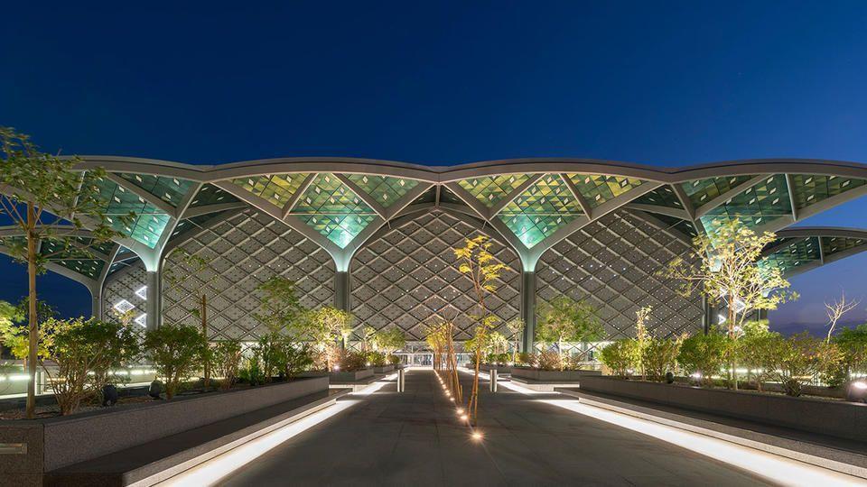 بالصور : محطات المترو العالية السرعة في السعودية