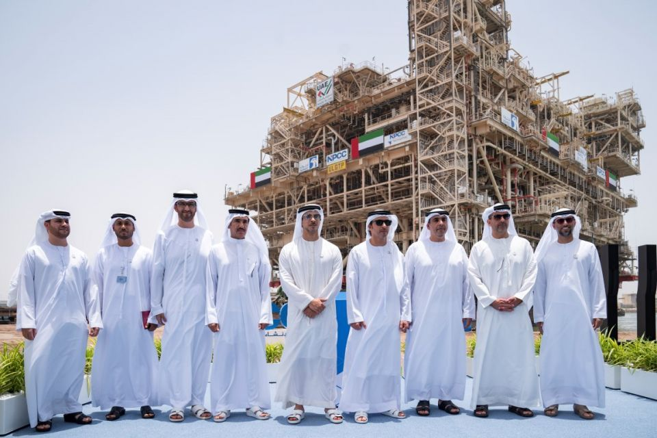 تدشين إحدى أكبر منصات النفط البحرية في العالم لصالح أدنوك في أبوظبي