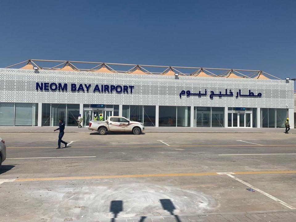 افتتاح مطار خليج نيوم أول مشاريع مدينة نيوم السعودية الضخمة