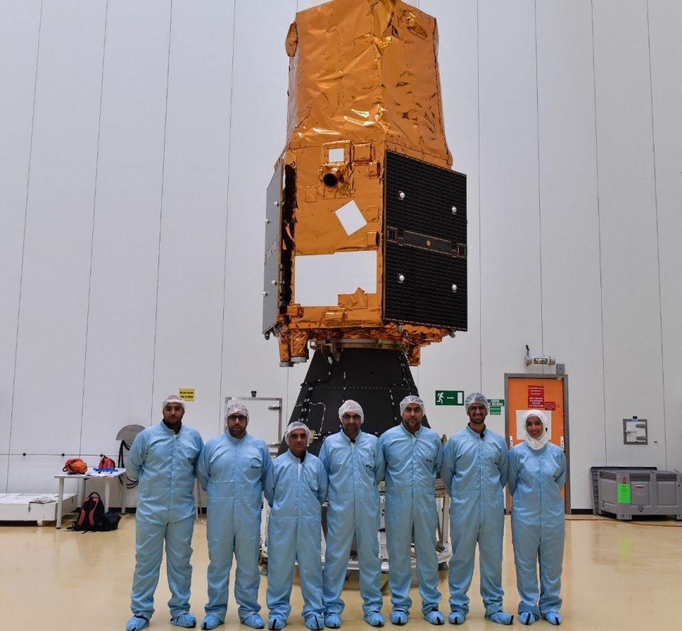 بالفيديو: الإمارات تستعد لإطلاق القمر الصناعي «عين الصقر» يوليو المقبل
