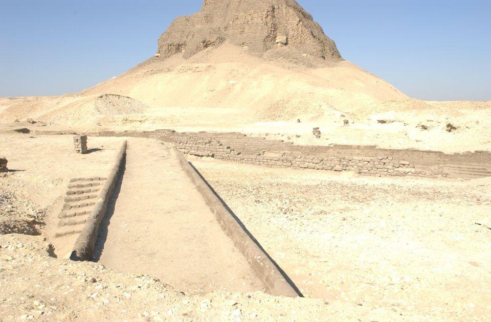 افتتاح هرم اللاهون في مصر لأول مرة منذ اكتشافه في القرن التاسع عشر
