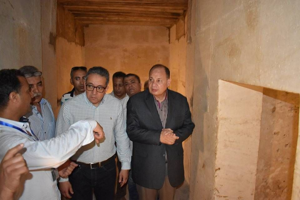 بالصور : مصر تفتتح هرم اللاهون لأول مرة منذ القرن الـ19