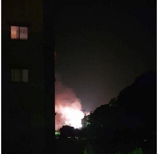 مقتل أربعة سوريين بينهم طفل في قصف إسرائيلي على دمشق