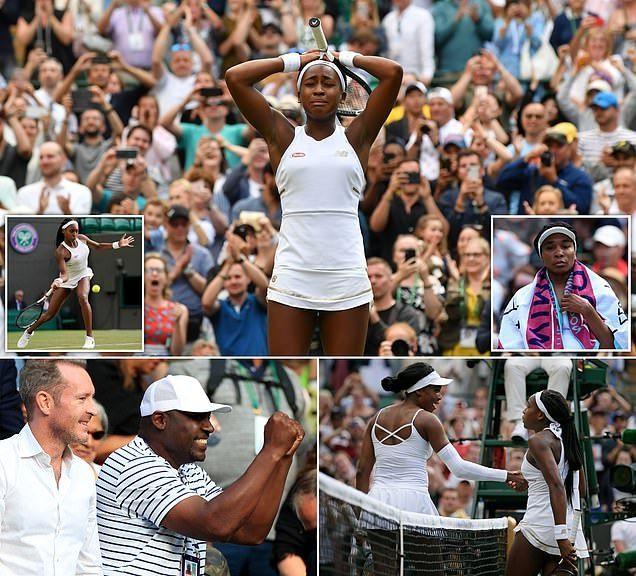 أصغر لاعبة تنس تطيح بالنجمة فينوس وليامز