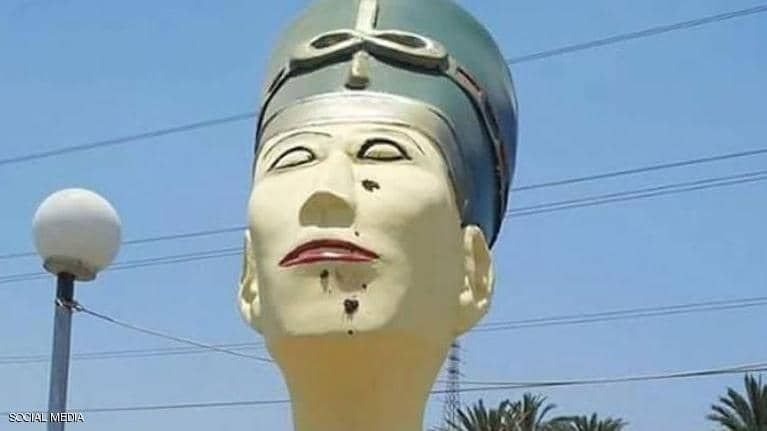 بالصور: تماثيل تثير السخرية