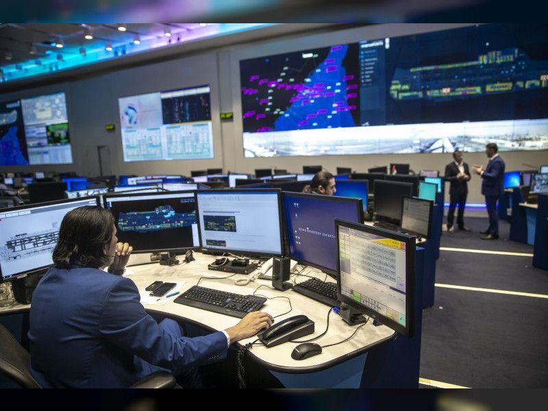 دبي تتبنى نظاما متطورا لمراقبة العمليات آنيا في مطار دبي الدولي