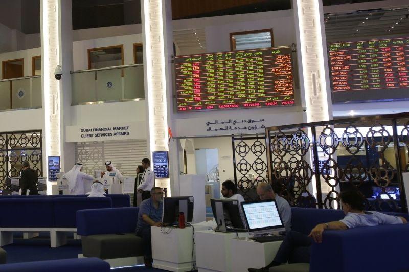الأسهم العقارية ترفع بورصة دبي والنفط يدفع السعودية للصعود