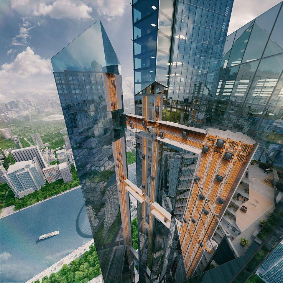 الكشف عن أول مصعد بلا حبال في إكسبو 2020 دبي
