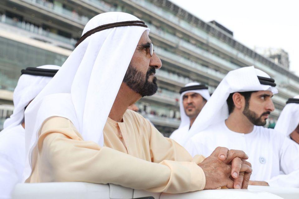 انتشار واسع لفيديو يظهر الشيخ محمد بن راشد مع أحفاده يوم ميلاده