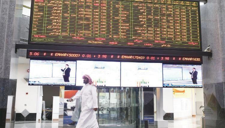 ارتفاع كبير لبورصة أبوظبي والأسواق السعودية تسجل تراجعا