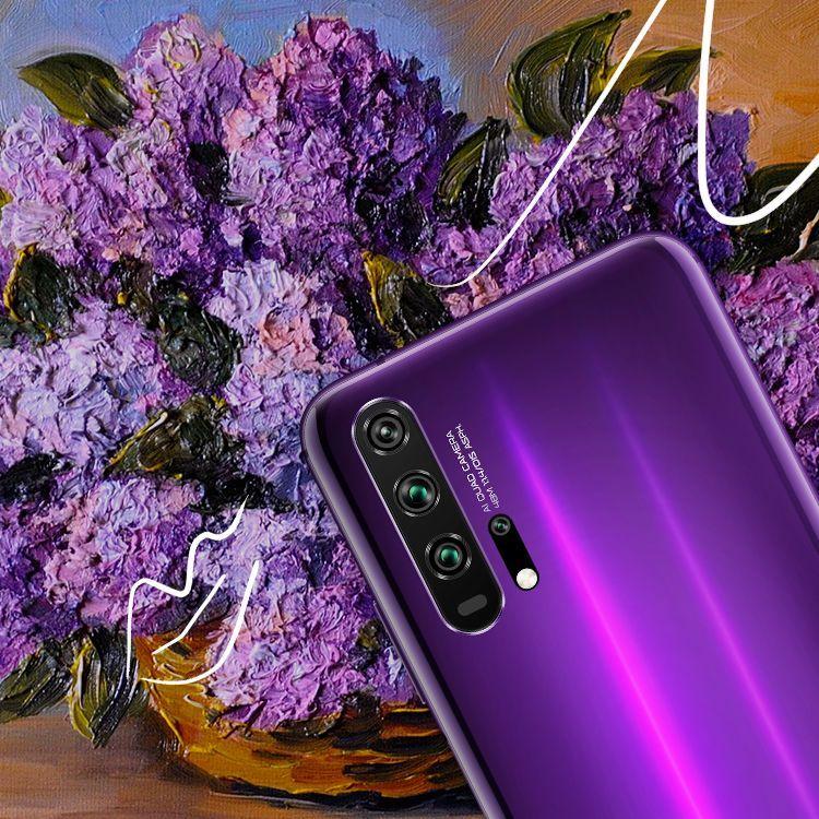 بالصور : لون حياتك بإيجابية مع هاتف HONOR 20 PRO الجديد