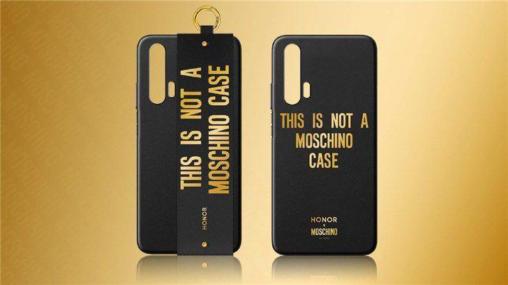 تعرف على نسخة Moschino الخاصة من HONOR 20 PRO