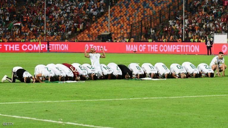 بالصور : الجزائر تتوج بلقب كأس الأمم الأفريقية