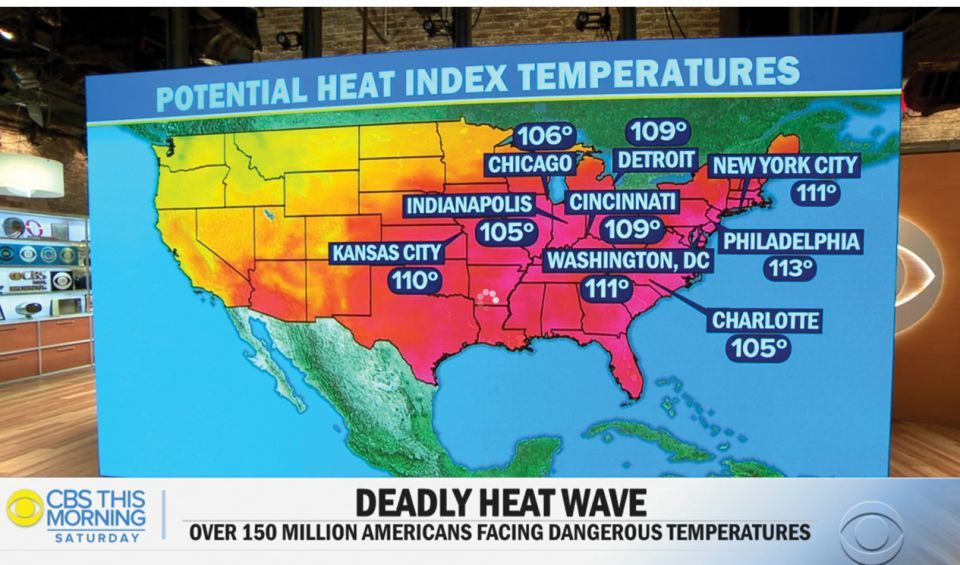 تحذيرات من موجة حر بعد موت 6 أشخاص في الولايات المتحدة