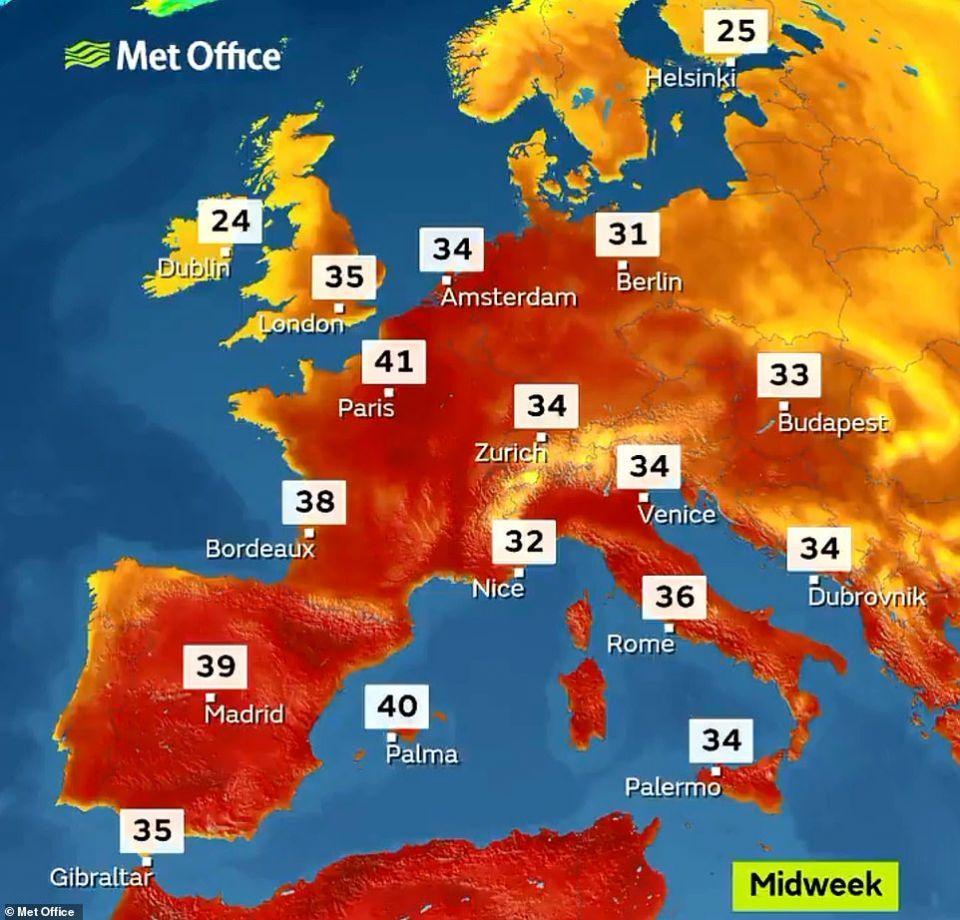 تحذيرات من ثاني موجة حر شديدة تلهب أوروبا