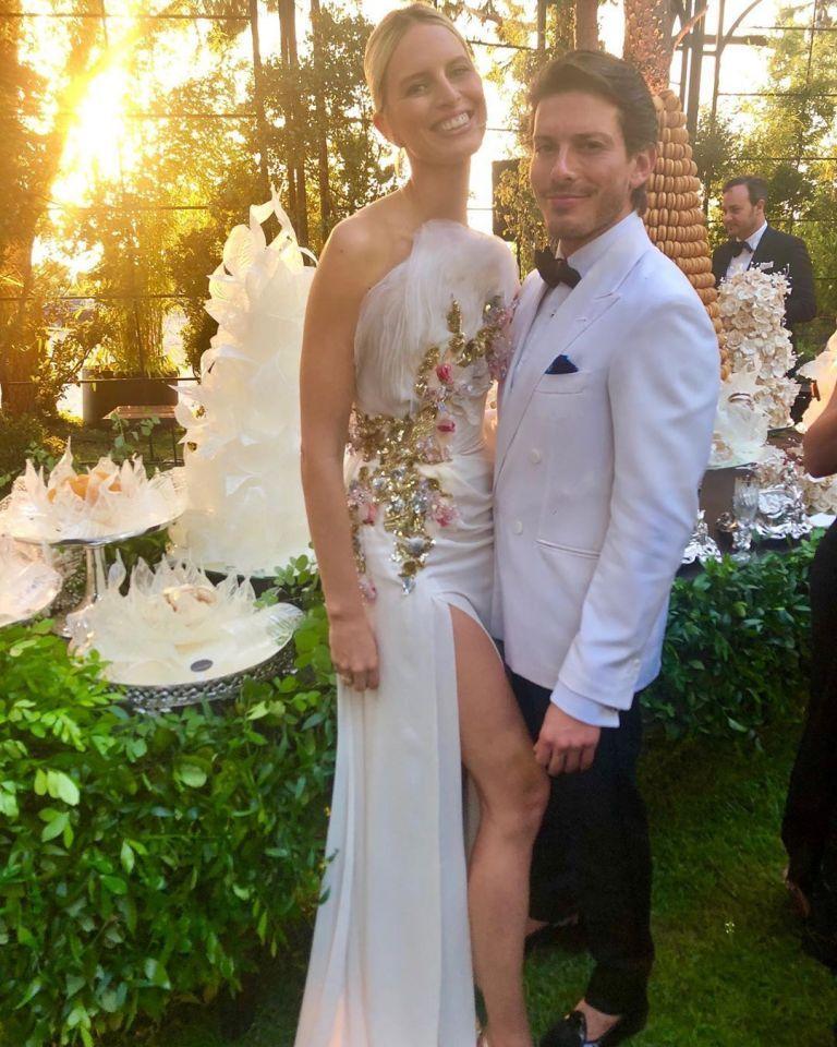 من هو مصمم الأزياء في زفاف ابن المصمم العالمي  إيلي صعب؟