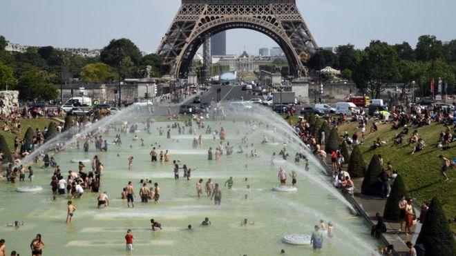 بالصور: ثاني موجة من الحر الشديد تجتاح أوروبا