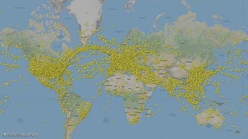 الخميس الماضي أكثر الأيام ازدحاماً في تاريخ الطيران العالمي