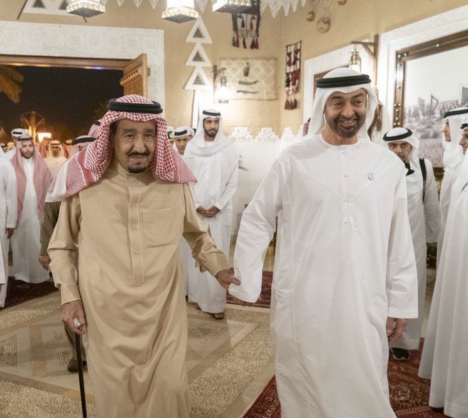السعودية تحب الإمارات.. يغزو ترند البلدين الشقيقين
