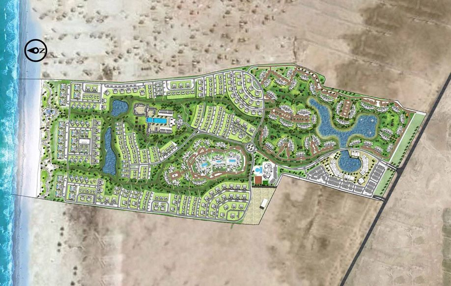 تطوير مصر تستثمر 4 مليارات جنيه في مشروع فوكا باي على ساحل البحر المتوسط