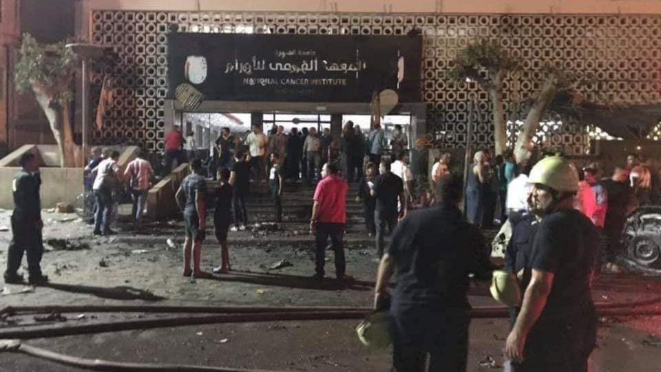 مصرع 19 مواطنا جراء حادث بمحيط معهد الأورام وسط القاهرة