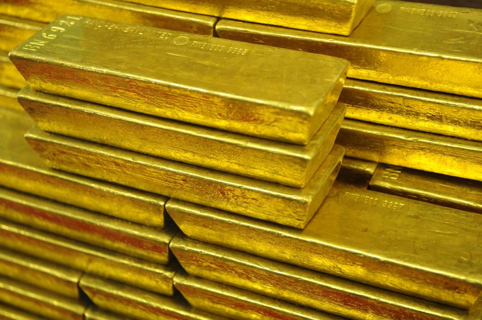 الذهب يسجل رقماً قياسياً جديداً بفعل الحرب التجارية