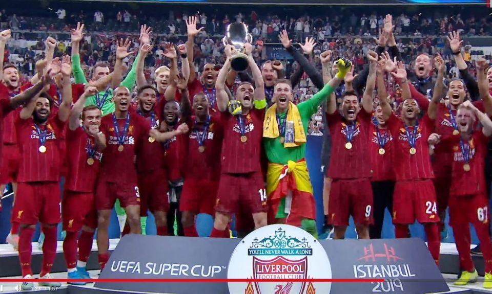 ليفربول يفوز بكأس السوبر الأوروبية أمام تشيلسي بعد ركلات الترجيح