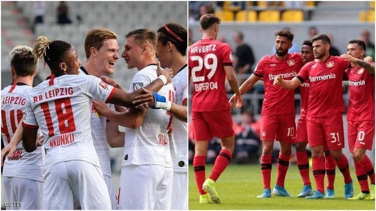 بالصور : مباريات حامية في بطولة الدوري الألماني