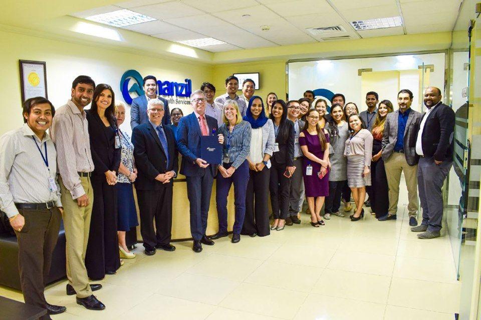 الإمارات: تجديد اعتماد شركة منزل للرعاية الصحية من اللجنة الدولية