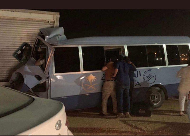 وفاة مضيفة ثانية في حادثة حافلة الخطوط السعودية