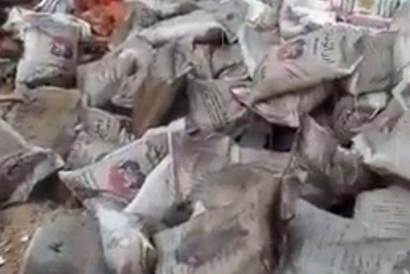 فيديو: الرياض تحقق في حادثة إتلاف أطنان من الأرز من قبل جمعية خيرية