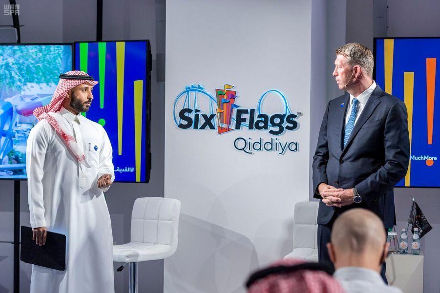الكشف عن تصميم 6 فلاجز القدية الترفيهي العملاق في السعودية